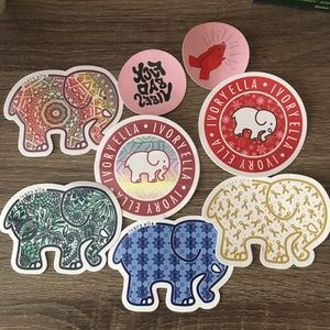 Ivory Ella Assorted Sticker Collection Bundle